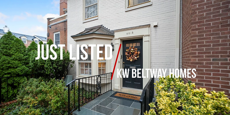 Just Listed Wesley Heights DC